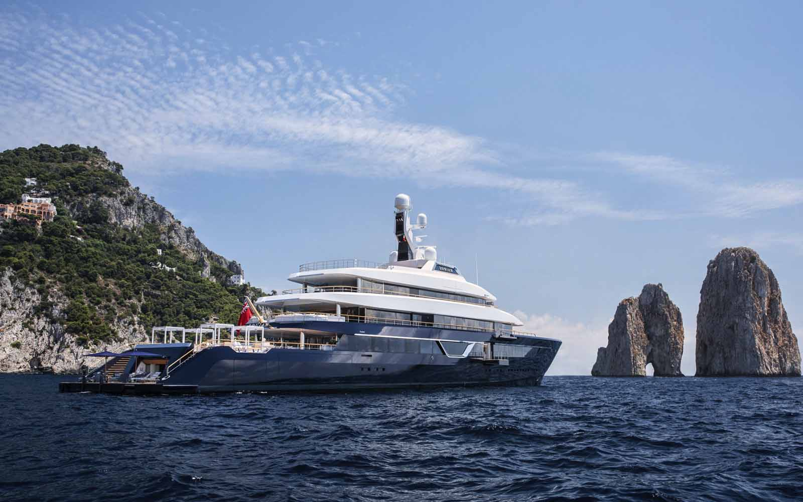 Feadship superyacht Lonian - boat shopping
