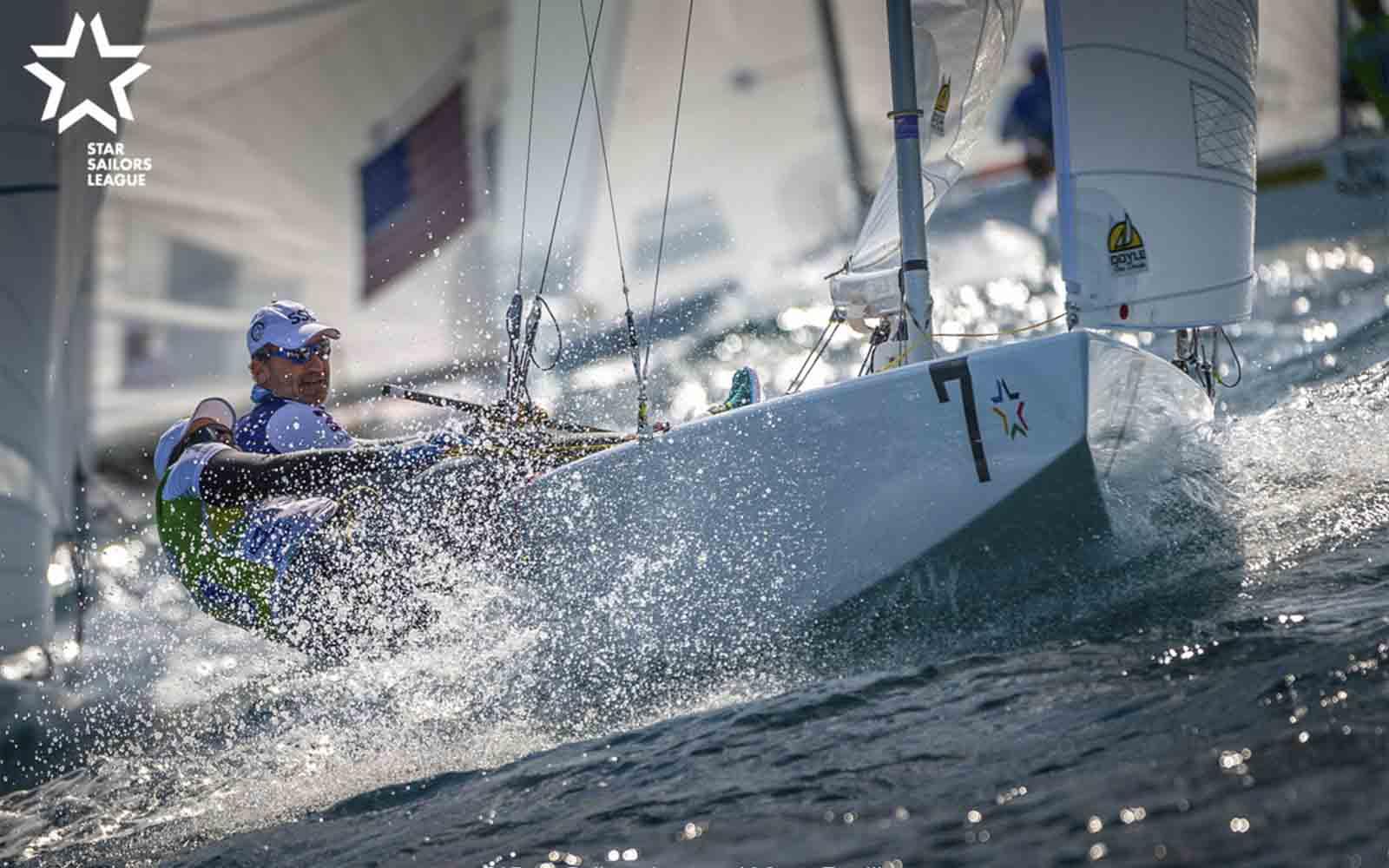 Paul Cayard e Arthur Lopes (Marc Rouiller SSL) - boat shopping