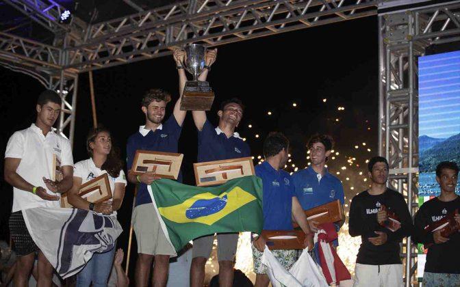 Premiação (Matias Capizzano) Mundial de Snipe 2019 - boat shopping