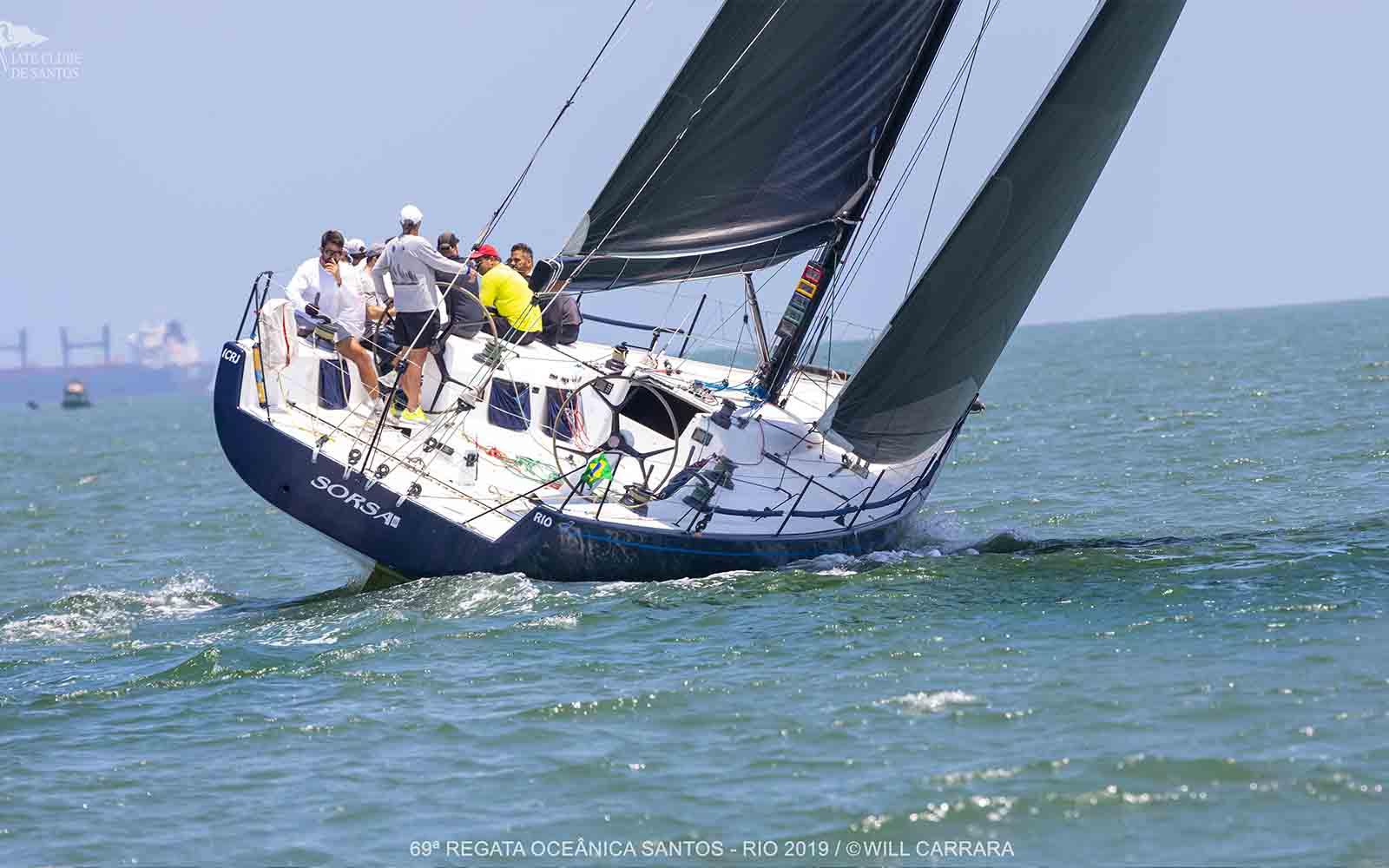 SORSA III Fita Azul da 69ª Regata Santos-Rio (Will Carrara) - boat shopping