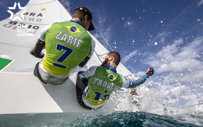 Zarif e Trouche - atuais campeões em Nassau (Marc Rouiller SSL Finals) - boat shopping