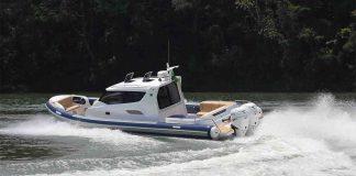 boat teste flex 1100 cabin - boat shopping