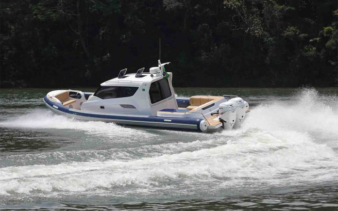 boat teste flex 1100 cabin infláveis - boat shopping