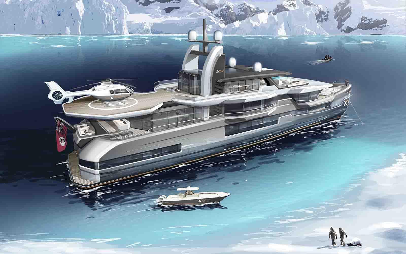 heesen yacht explorer xventure - boat shopping