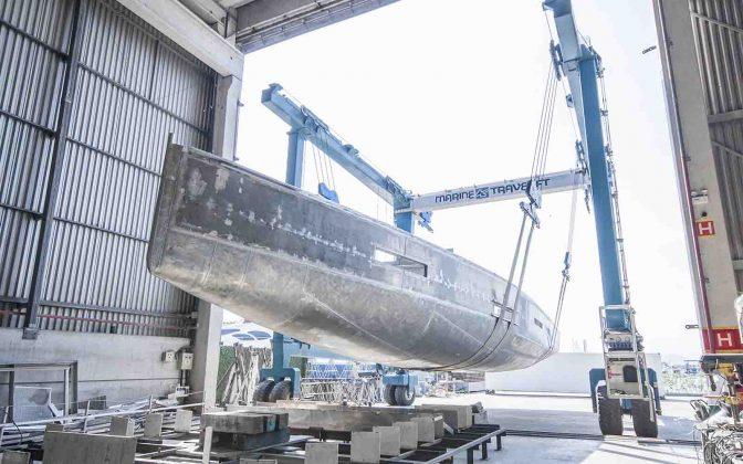 Global Exp 66 Construção - boat shopping