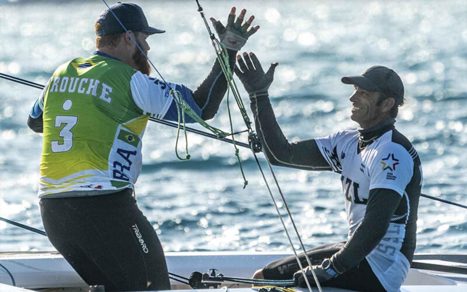 Vitória de Trouche e Pepper (Gilles Morelle SSL) - boat shopping