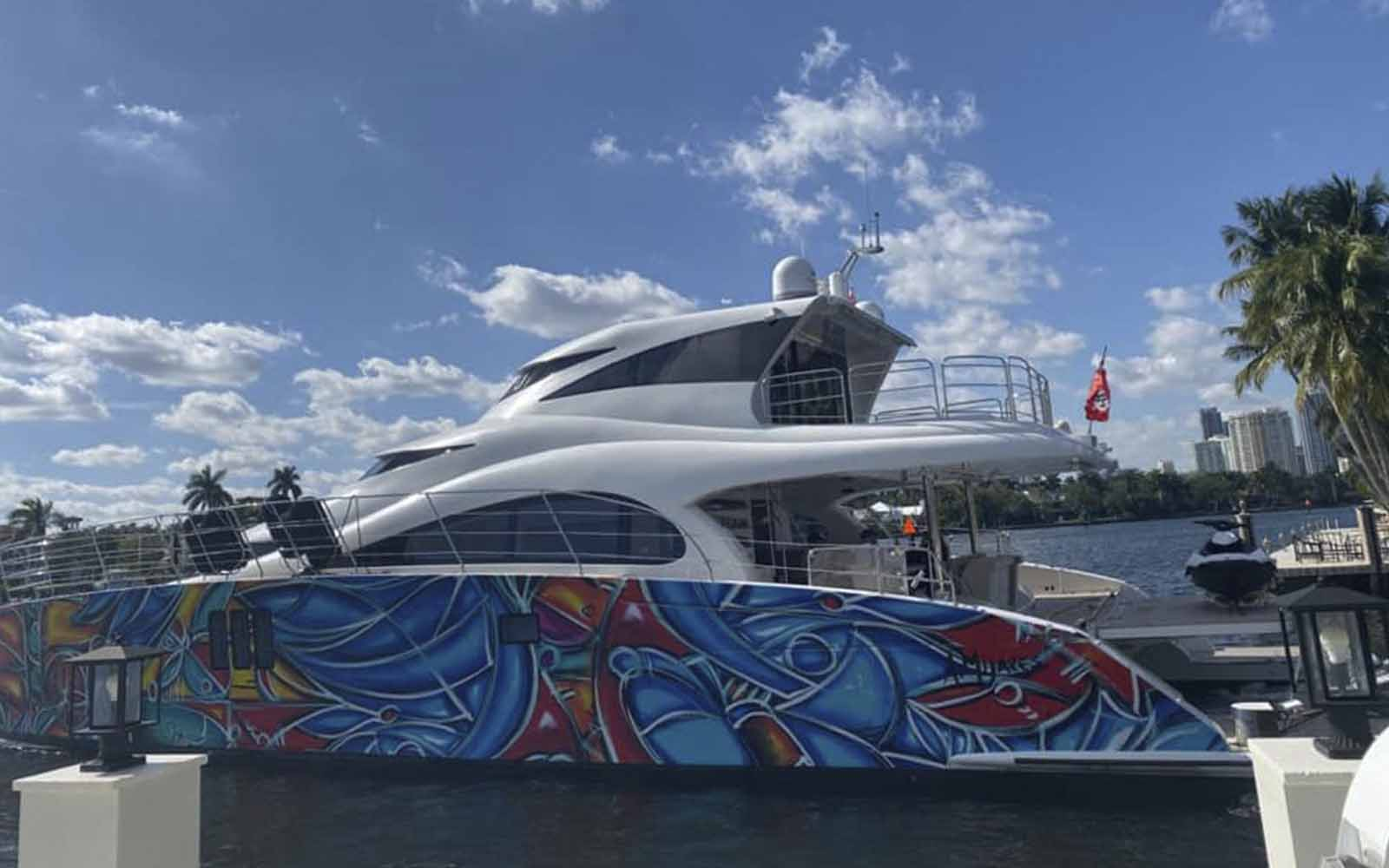 sunreef iate art basel miami - boat shopping