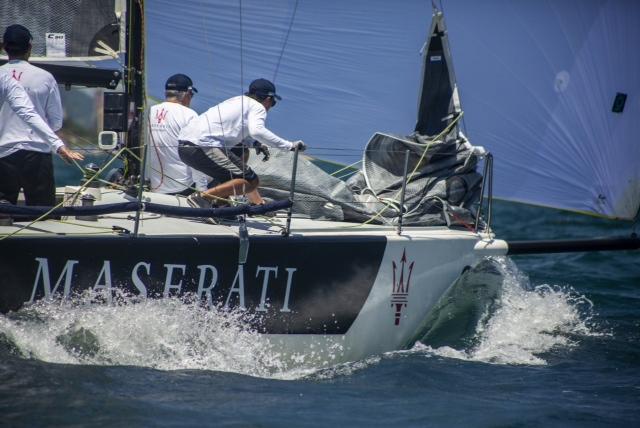 Atual campeão Kaikias Maserati (Marcelo Leão Green Multimídia) classe c30 - boat shopping