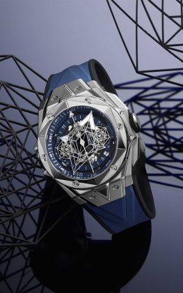 Big Bang Sang Bleu II Titanium Blue - boat shopping