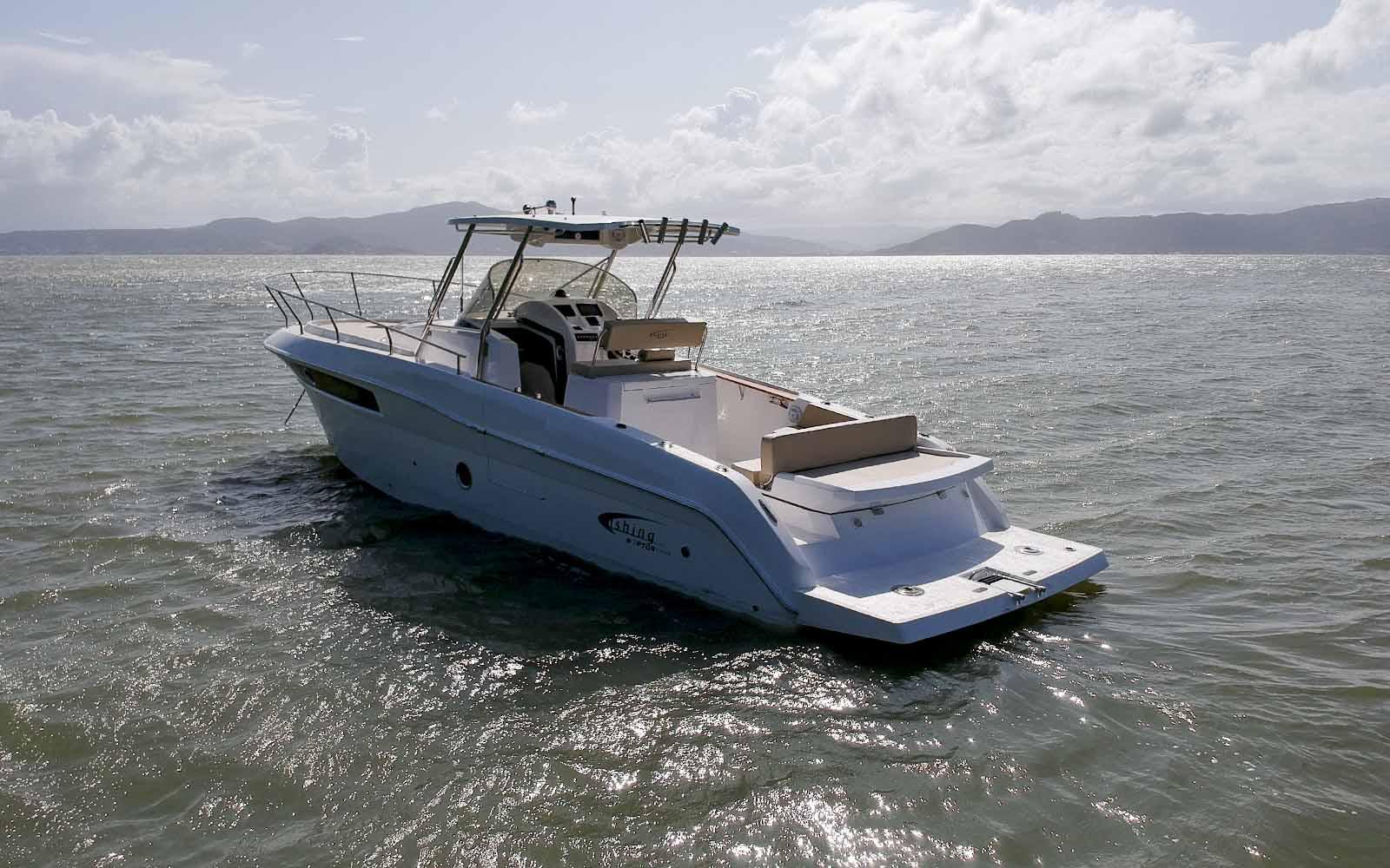 Fishing 350 Raptor lancha - boat shopping