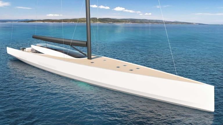 Philip Briand veleiro SY200 zero emissão - boat shopping