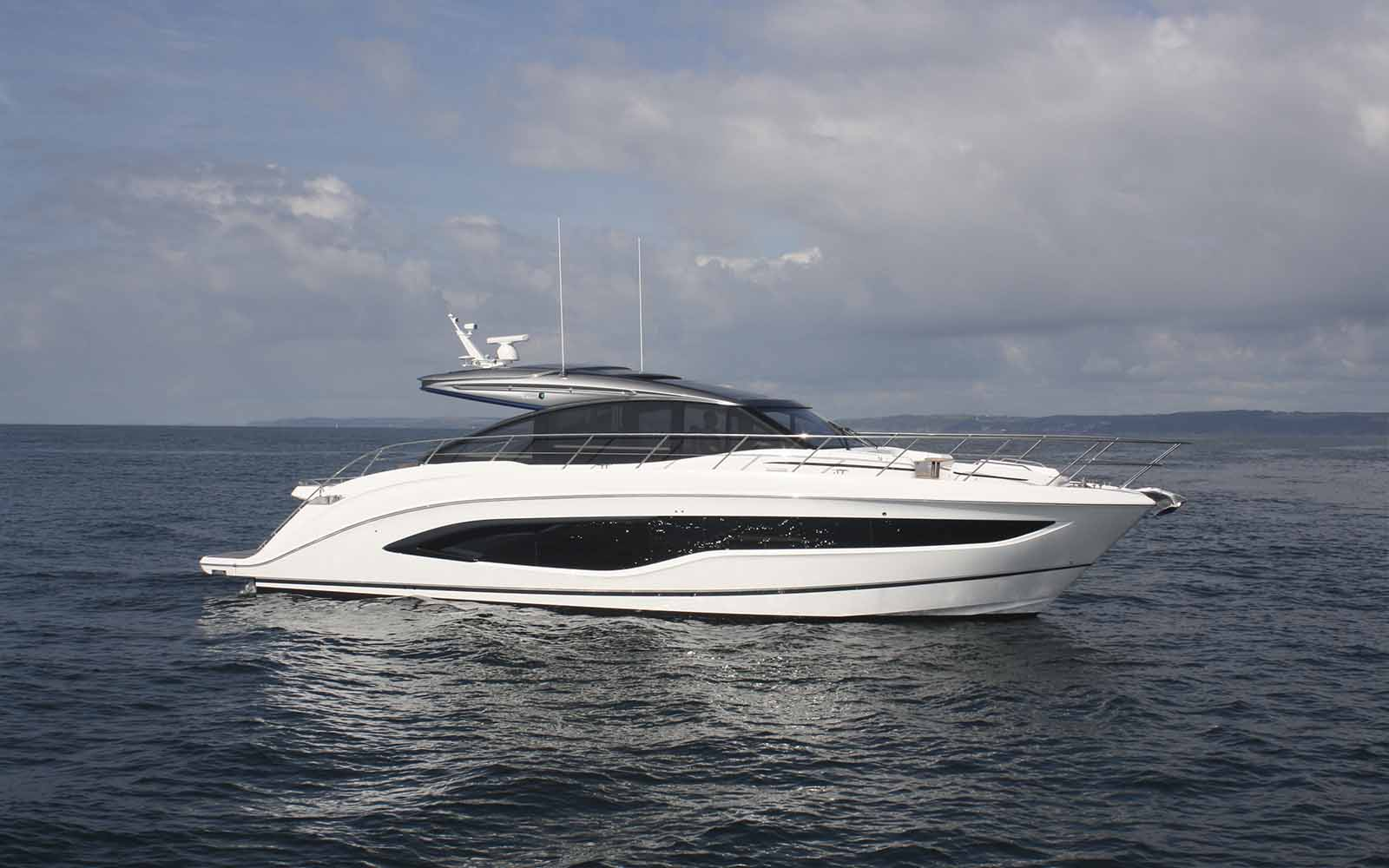 Princess V55 - boat shopping