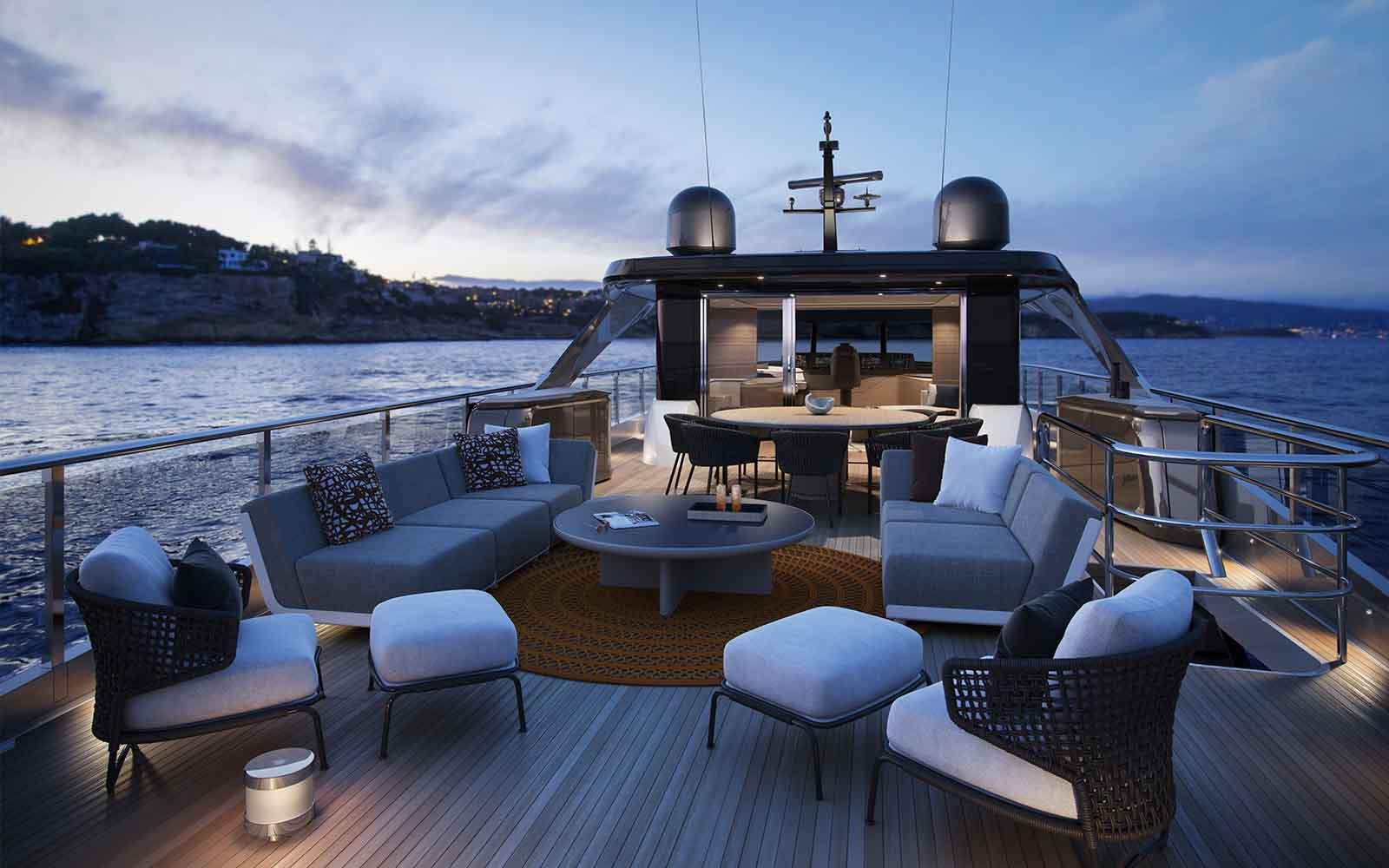 Princess X95 - boat shopping