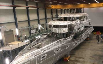 Royal Huisman Projeto Phi construção - boat shopping