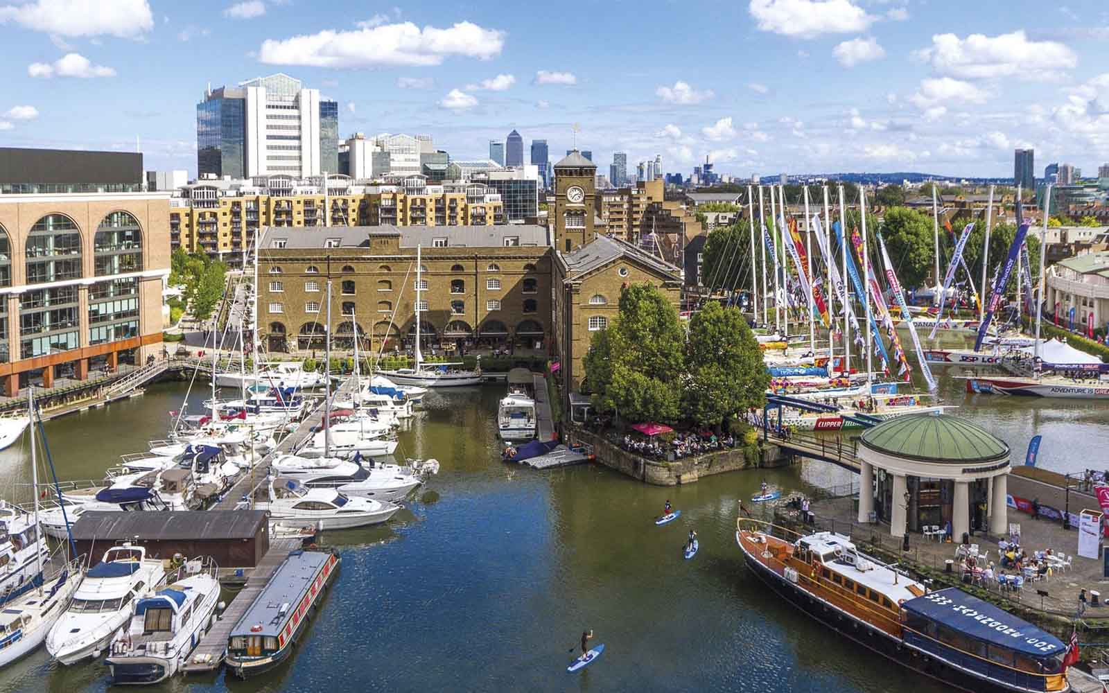 St. Kats Docks - boat shopping