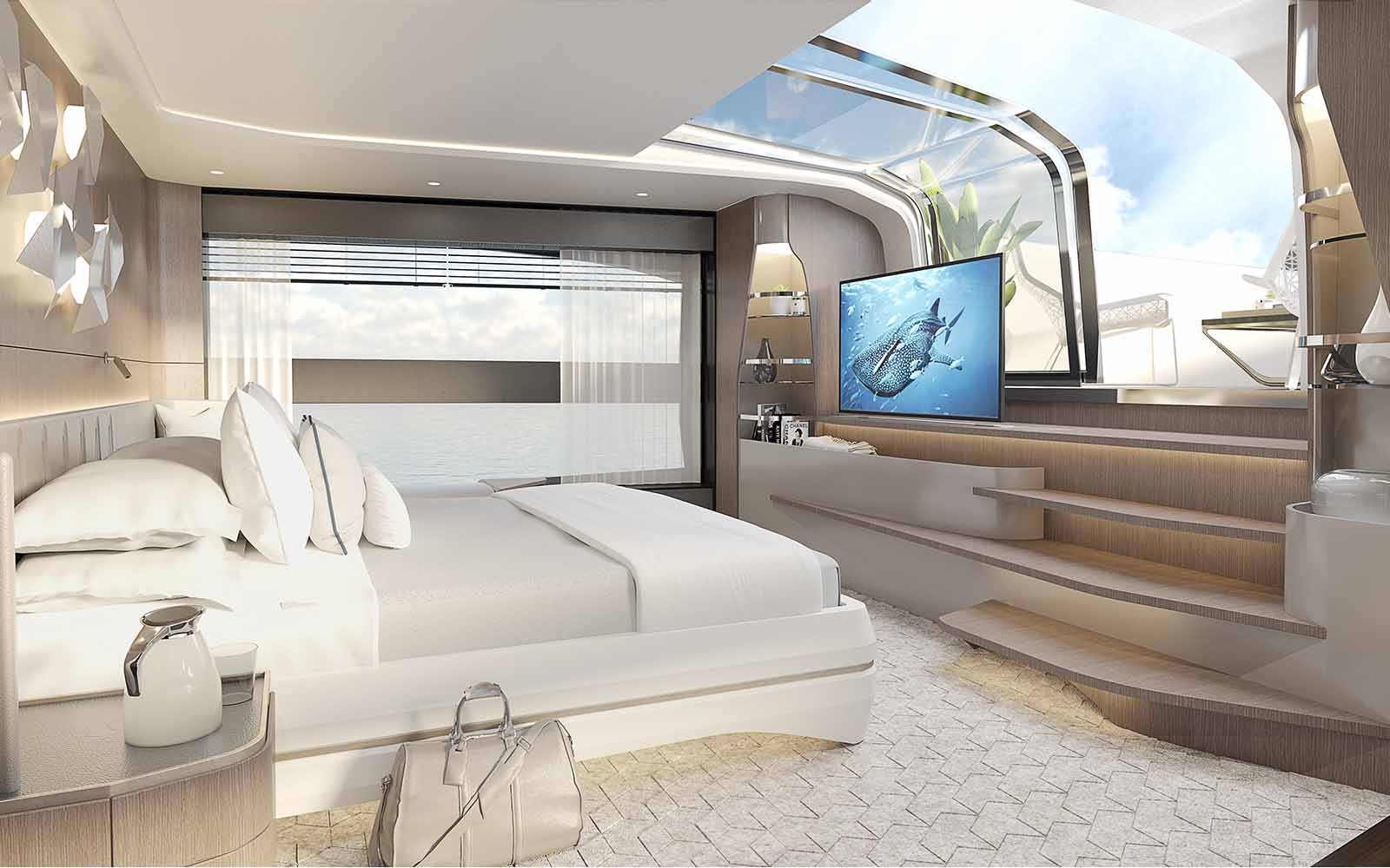 Sunseeker 100 Yacht Render - boat shopping