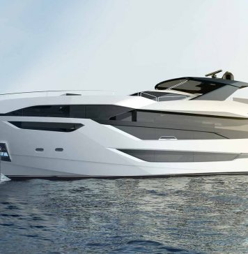 Sunseeker 100 Yacht Render - boat shopping