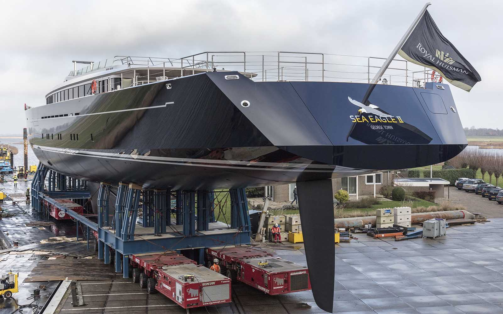 royal huisman flagship sea eagle ii - boat shopping