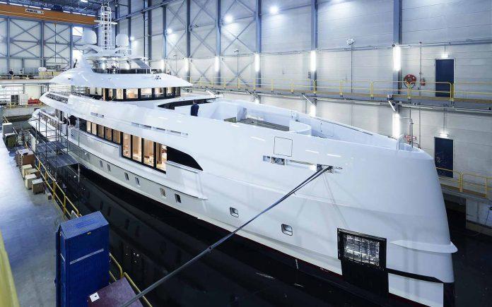 Heesen Project Electra superiate híbrido - boat shopping