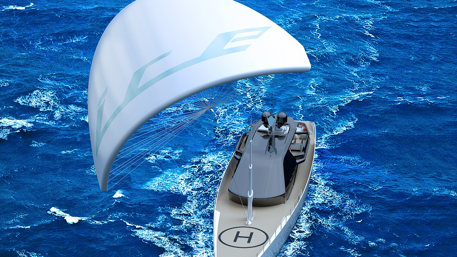 ICE Kite Superyacht - boat shopping