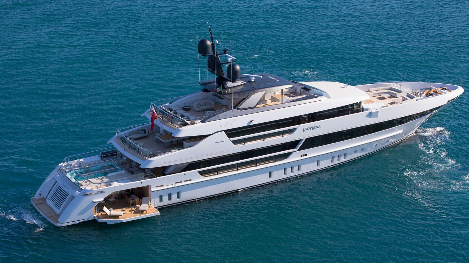 Sanlorenzo Yacht 52 Steel Lady Lena - boat shopping