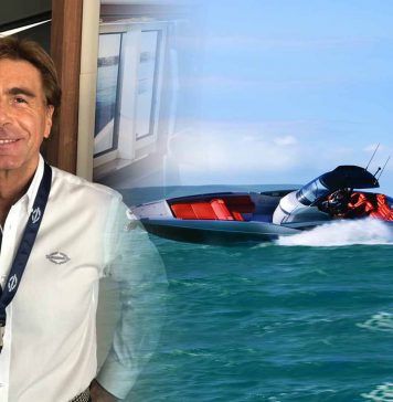 Sunseeker's CEO Andrea Frabetti - boat shopping