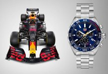 TAG Heuer Formula 1 Aston Martin Red Bull Racing Special Edition - boat shopping