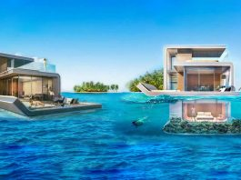 7. Floating Seahorse Villa - boat shopping