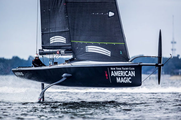 American Magic Americas Cup Stratasys - boat shopping