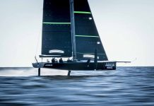 American Magic America's Cup Stratasys - boat shopping