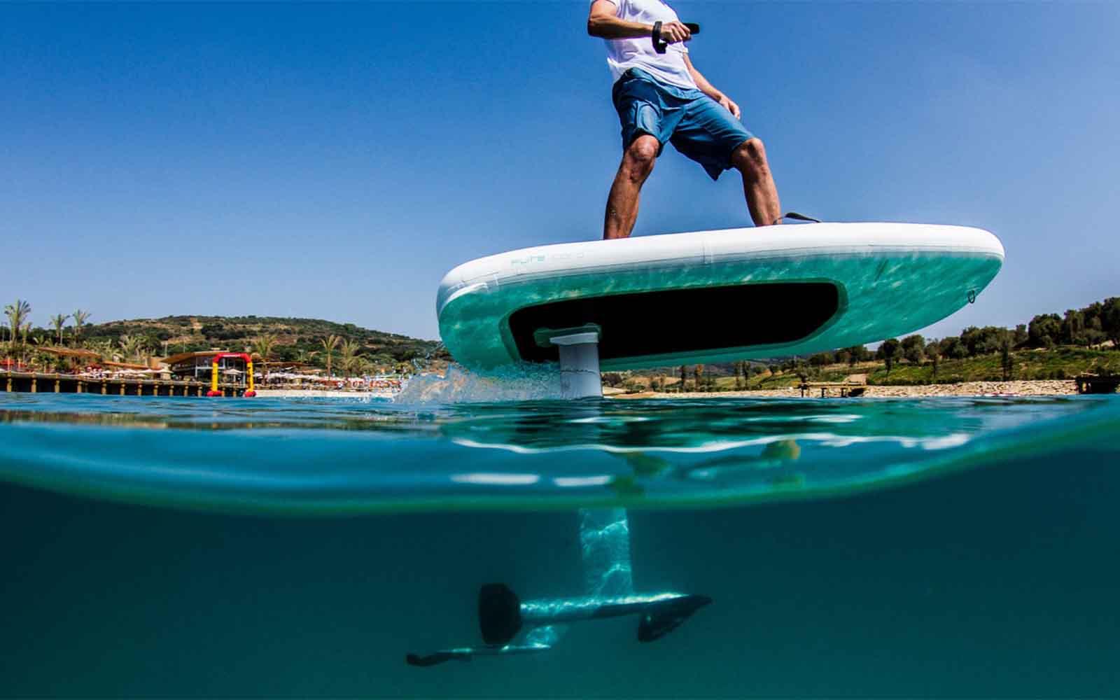 Brinquedos com foil Fliteboard - boat shopping