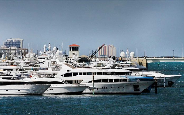 Palm Beach international boat show - boat shopping