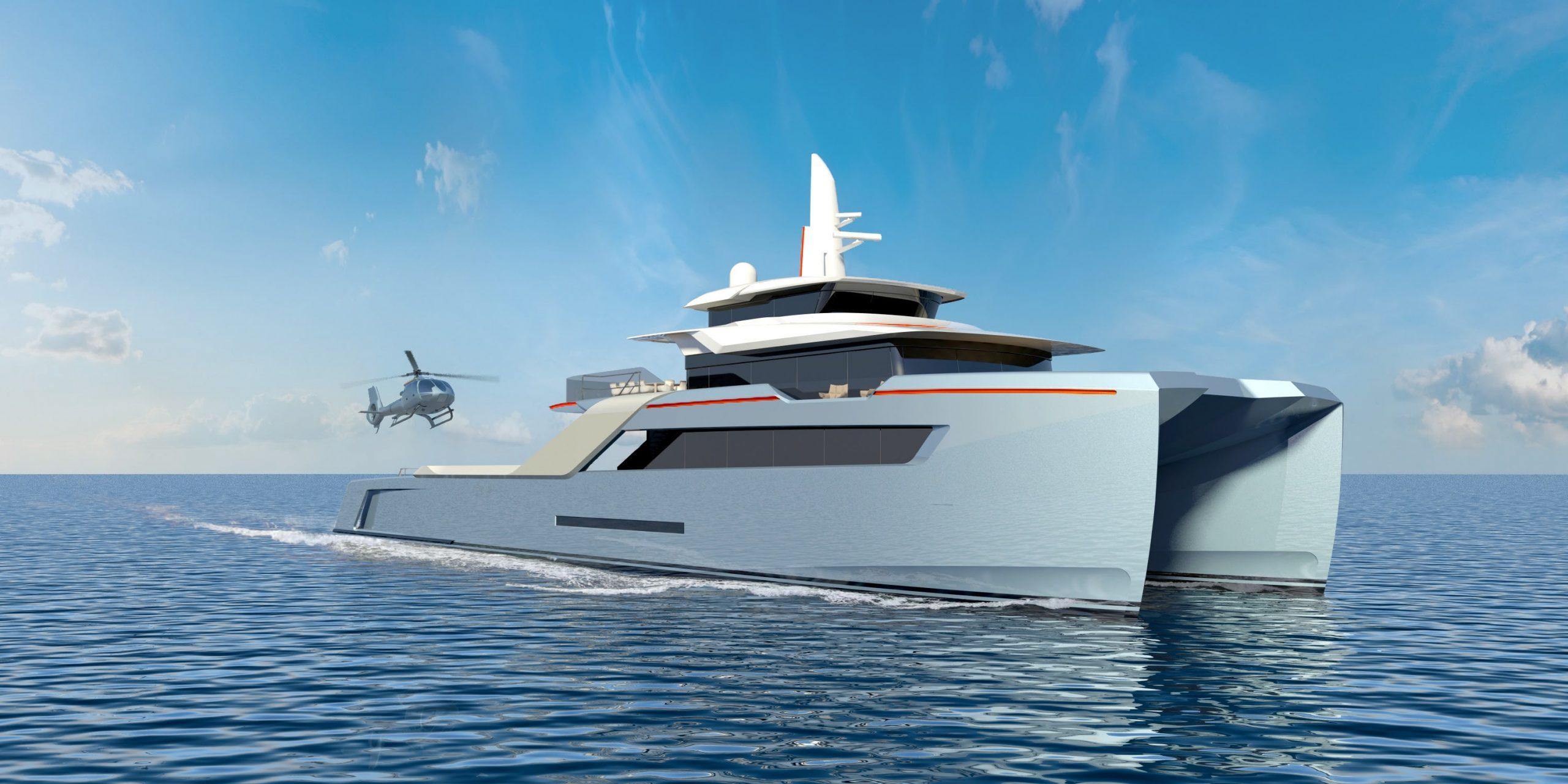 Echo Yachts Superiate HSV apoio humanitário - boat shopping