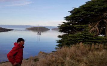 Isolamento a bordo - Vilfredo Schurmann em West Falkland1