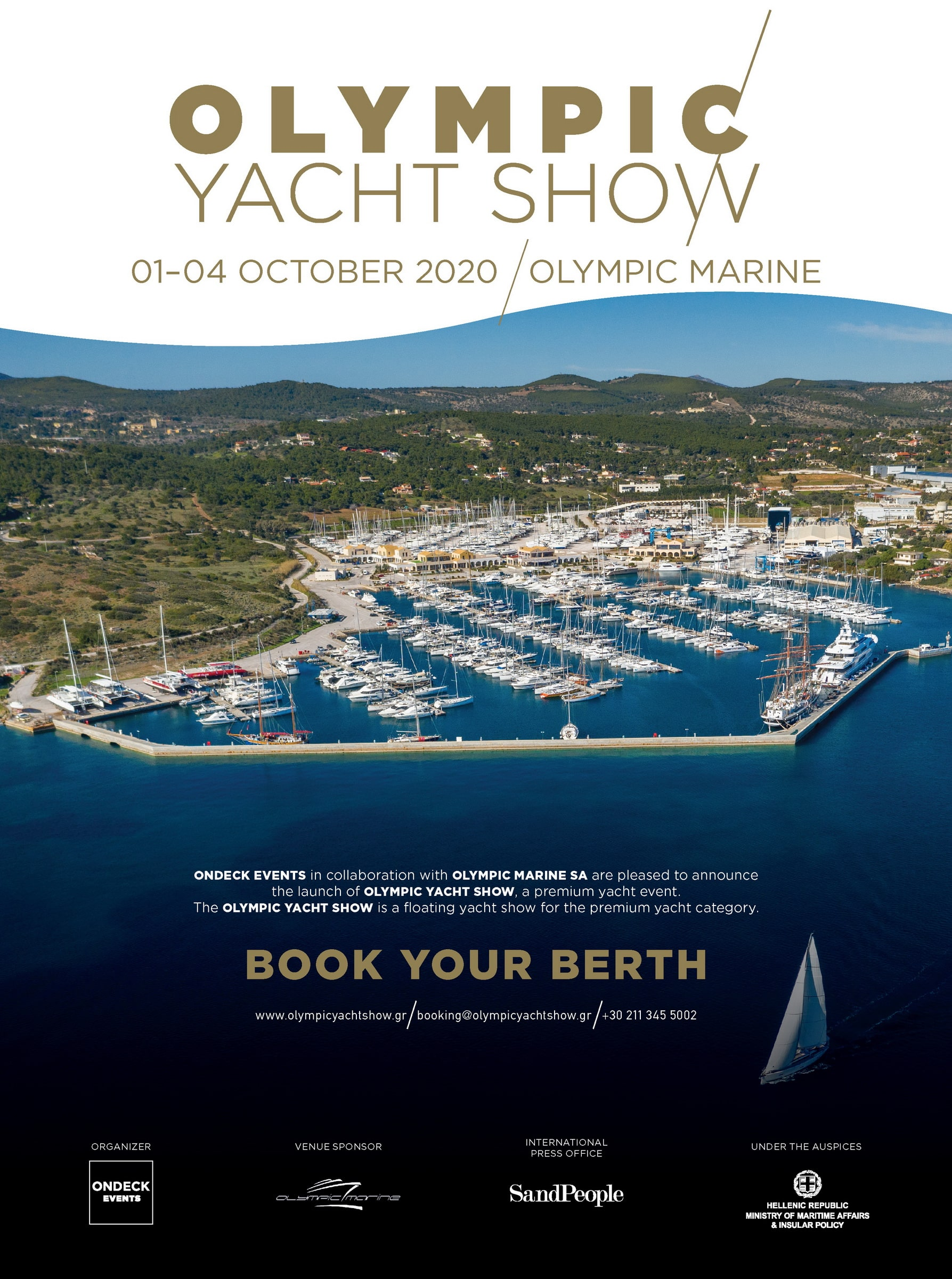 Olympic Yacht Show - boat shopping