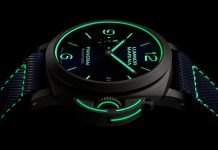 Panerai Luminor 70 anos - boat shopping