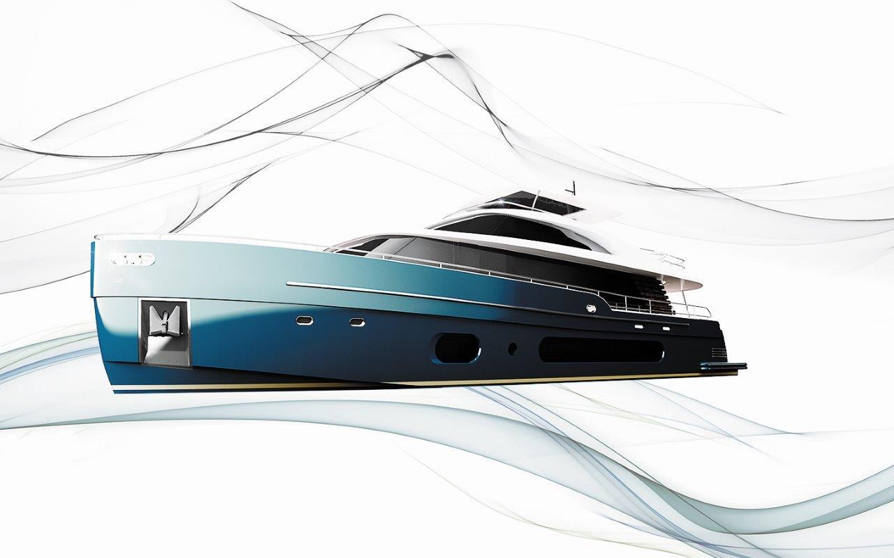 Azimut Magellano 25 Metri tecnologia NASA - boat shopping
