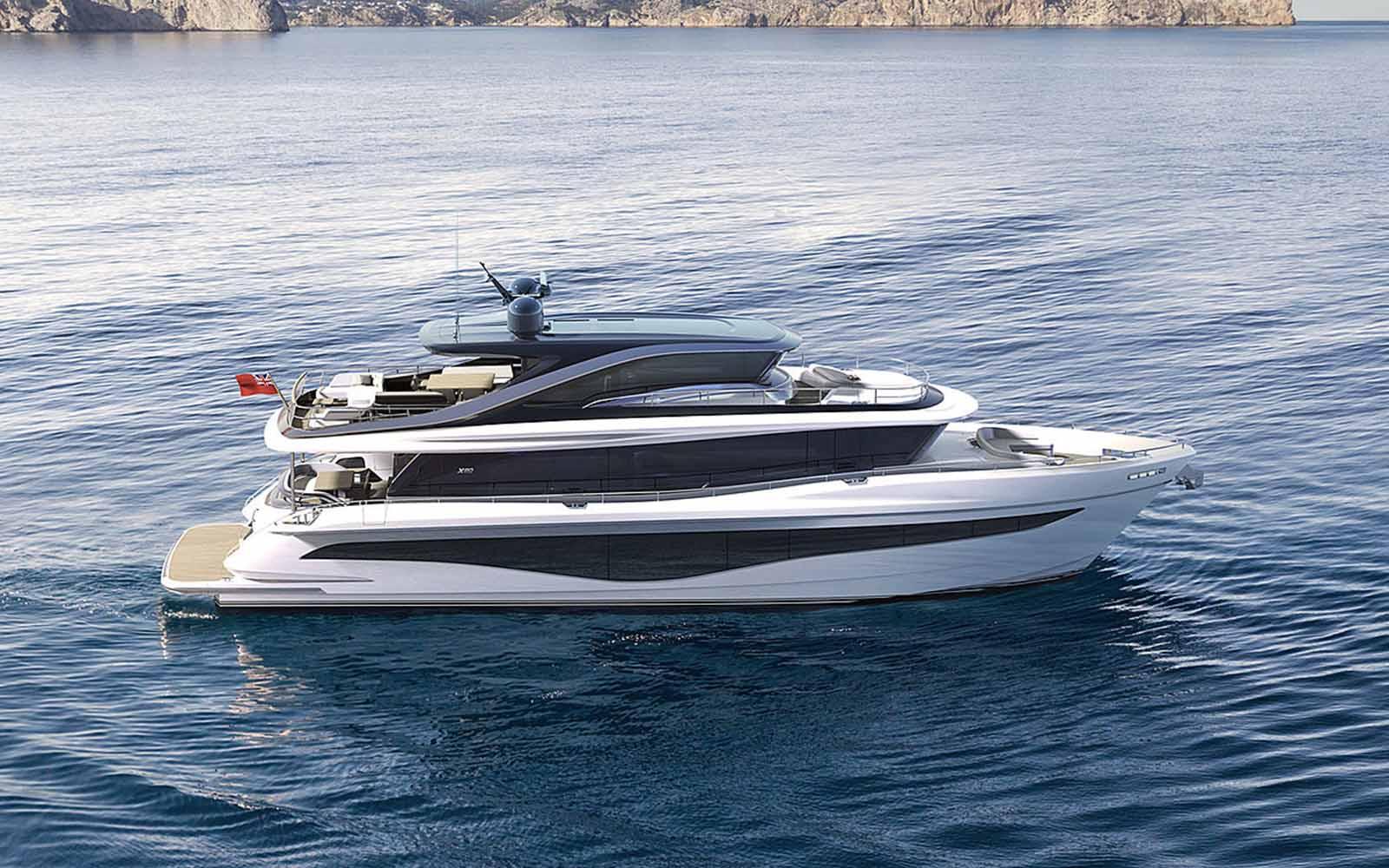 Princess X80 render - boat shopping