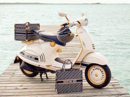 Vespa Dior - boat shopping 2