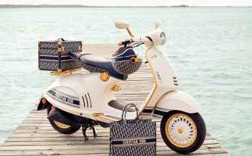 Vespa Dior - boat shopping 2