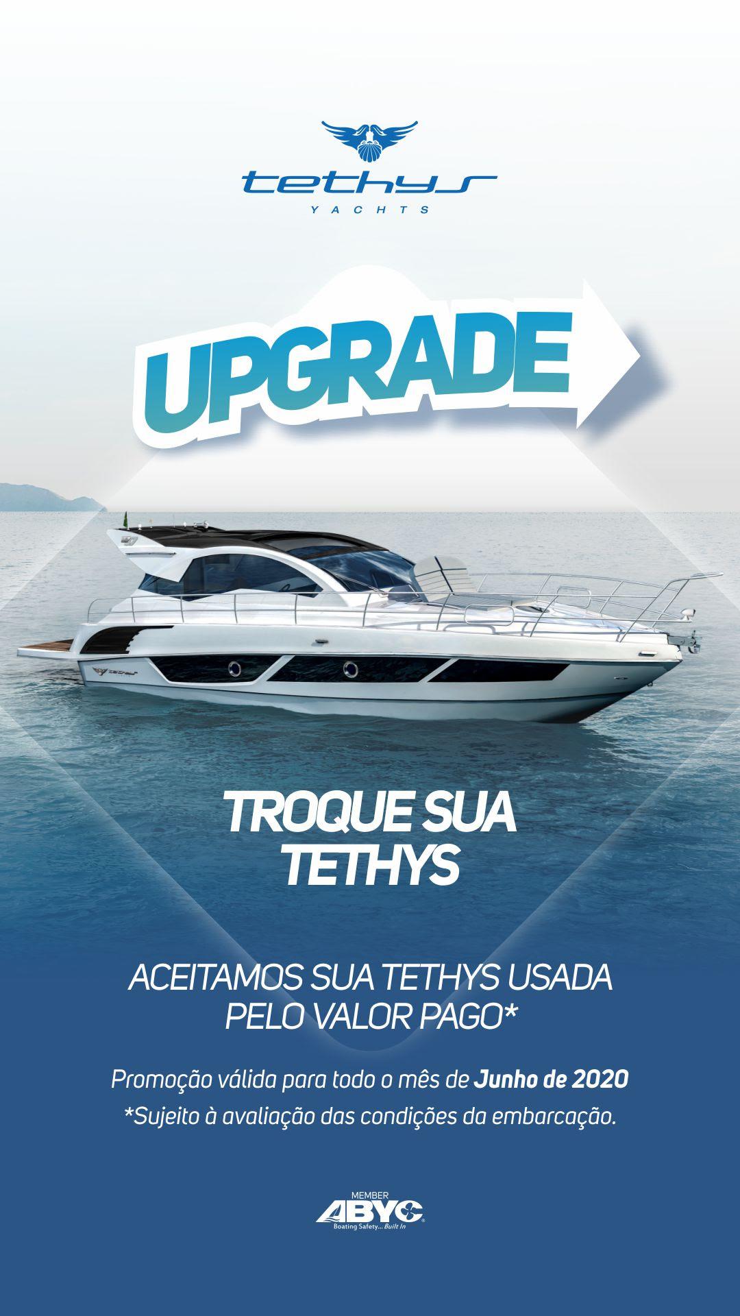 tethys upgrade lancha - boat shopping