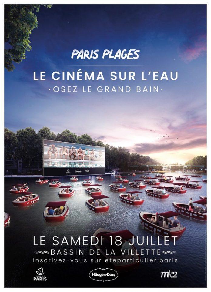cinema drive-in barcos paris - boat shopping