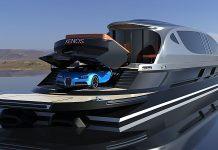 Superiate conceito Xenos com Bugatti - boat shopping