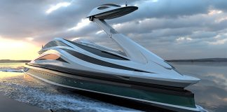 Avanguardia Superiate conceito Cisne Lazzarini - boat shopping
