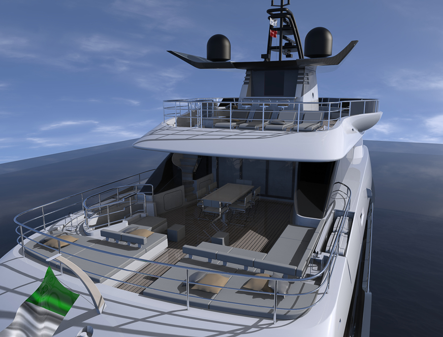 Canados fast expedition Oceanic Yachts 140 - boat shopping