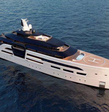 Conceito de superiate Ultra2 - boat shopping