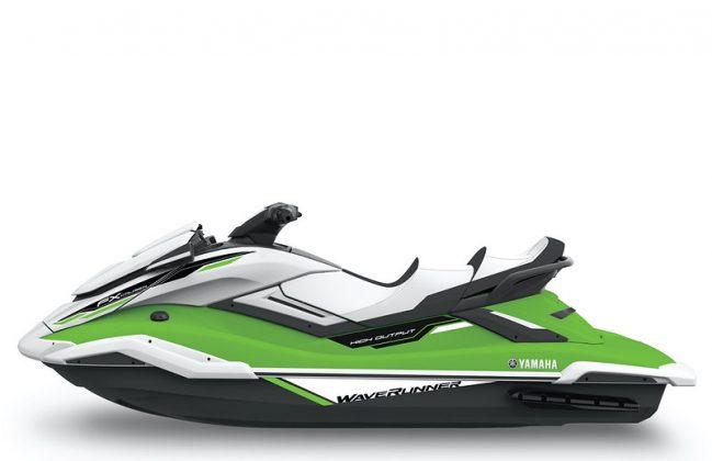 FX Cruiser SVHO verde Yamaha WaveRunner 2021 - boat shopping