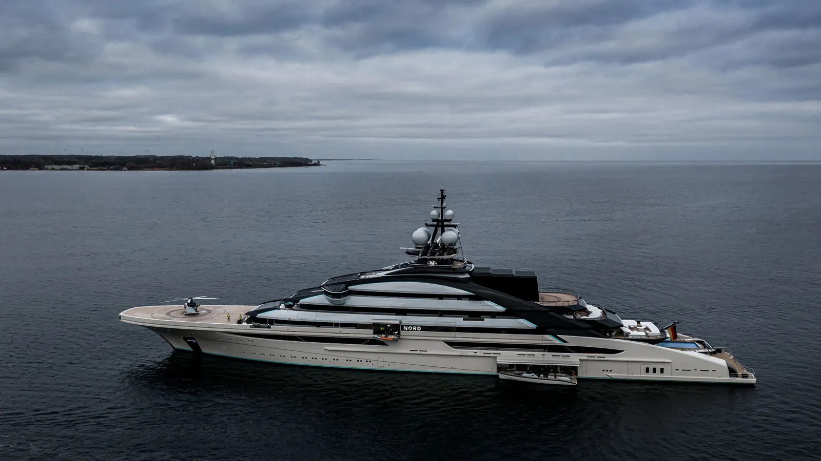 Nord Superiate Lurssen - boat shopping