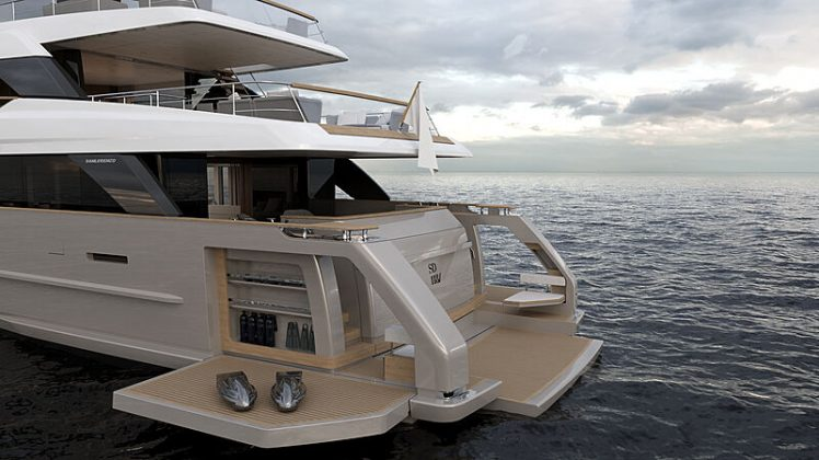 Sanlorenzo SD118 yacht - boat shopping