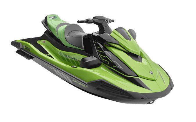 VX Cruiser HO verde Yamaha WaveRunner 2021 - boat shopping